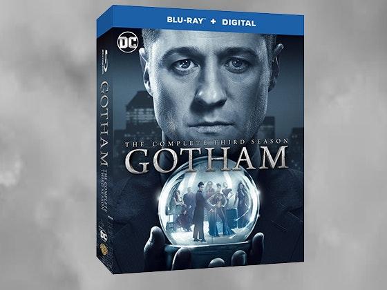 Gotham: The Complete Third Season on Blu-ray™ sweepstakes