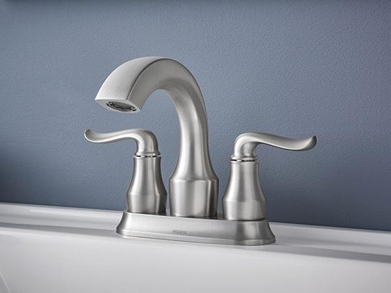 Moen Hamden™ Two-Handle Faucet + Accessories sweepstakes