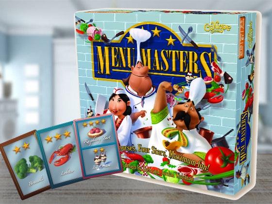 Menu Masters™ Board Game sweepstakes