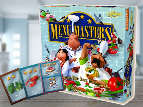 Menu Masters™ Board Game sweepstakes