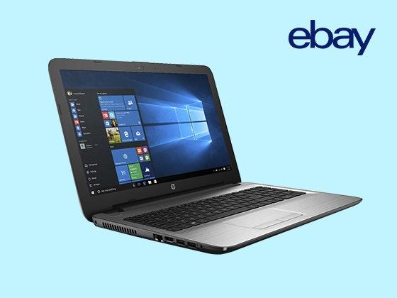 Gewinnen Sie ein HP250 G5 Notebook von eBay Gewinnspiel