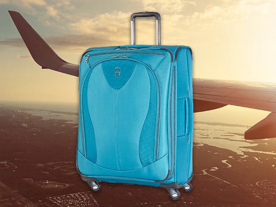 Atlantic Ultra Expandable Spinner Suitcase sweepstakes