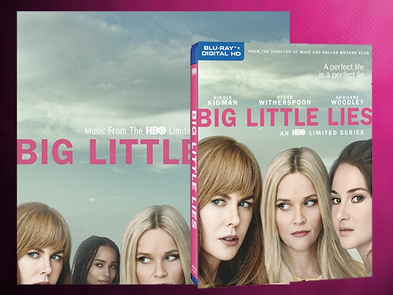 """Big Little Lies"" Blu-ray™ and Vinyl sweepstakes"