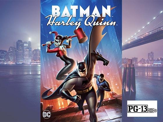 Batman harleyquinn giveaway