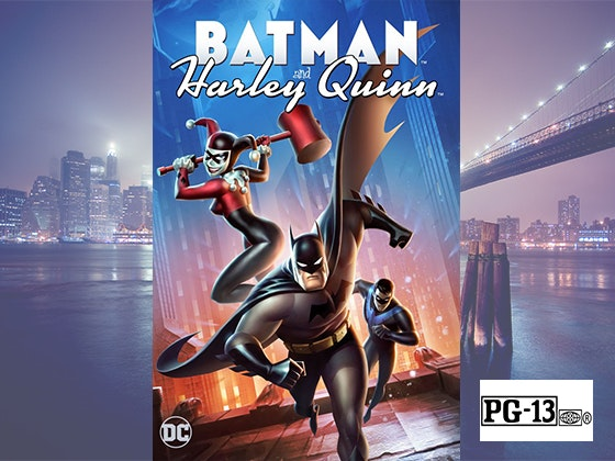 """DCU: Batman and Harley Quinn"" on Digital sweepstakes"