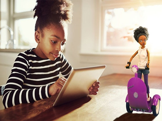 Siggy Robot and Doll from SmartGurlz sweepstakes