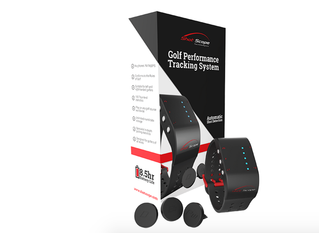 WIN A shotscope on-course shot tracker sweepstakes