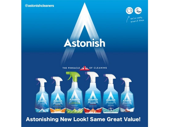 Astonish sweepstakes