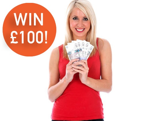 £100 CASH!! sweepstakes