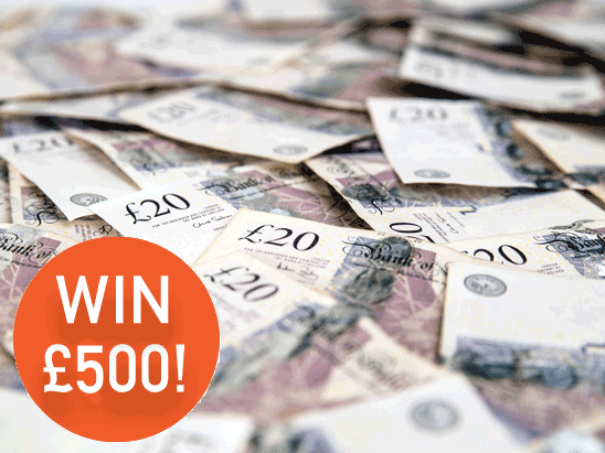 £500 CASH!! sweepstakes