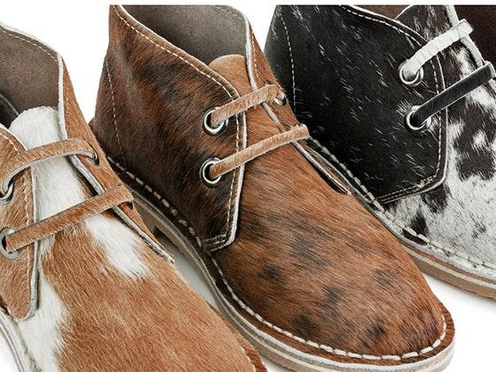 Pair of UWEZO Desert Boots sweepstakes