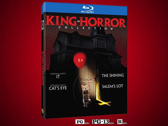 King of Horror Collection on Blu-ray™ sweepstakes