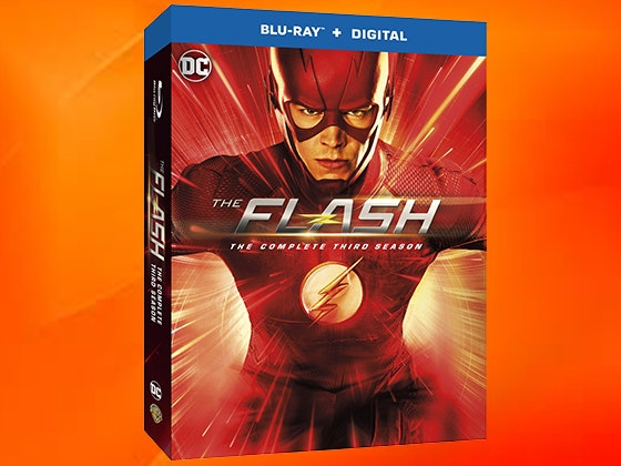 The Flash: The Complete Third Season on Blu-ray™ sweepstakes