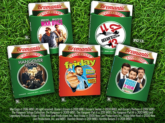 Bromance Movie Promotion sweepstakes