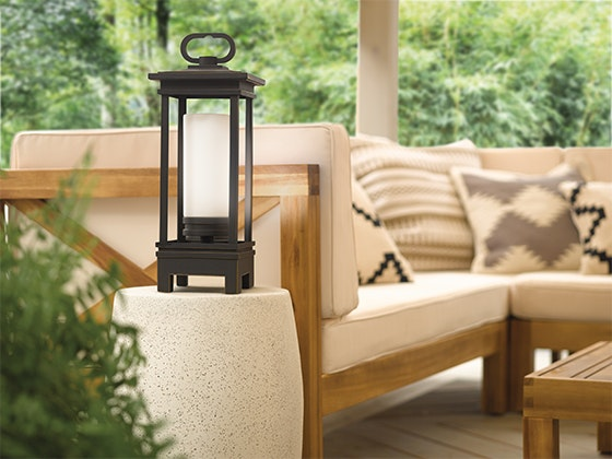 South Hope NEW Portable LED Lantern with Bluetooth® Speaker from Kichler sweepstakes