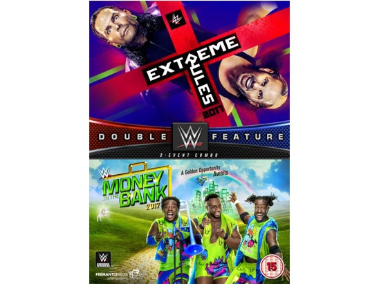 EXTREME RULES 2017 + MONEY IN THE BANK 2017 sweepstakes