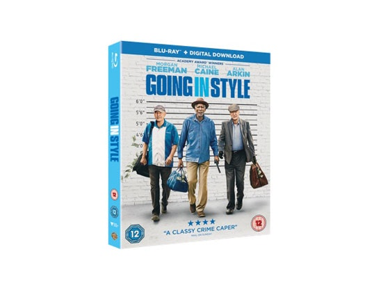 GOING IN STYLE on Blu-ray™ and an Escape Entertainment London voucher sweepstakes