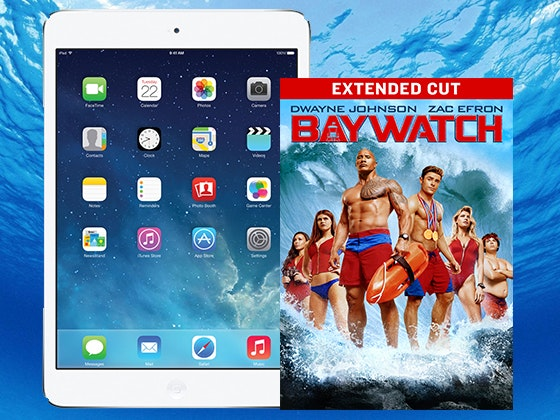 "iPad Mini 2 + ""Baywatch"" on Digital HD sweepstakes"