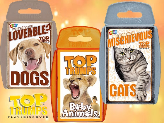Animals Top Trumps Game Bundle sweepstakes