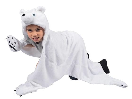 Wild Things Snowcap Polar Bear & Timber Brown Bear Blanket sweepstakes