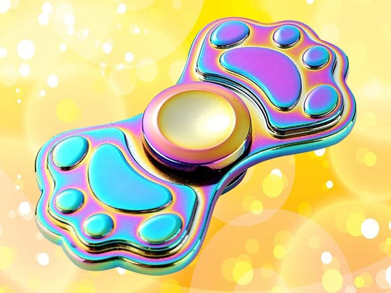 Paw Print Fidget Spinner sweepstakes