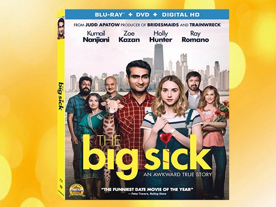 """""""The Big Sick"""" on Blu-ray™ Combo Pack sweepstakes"""