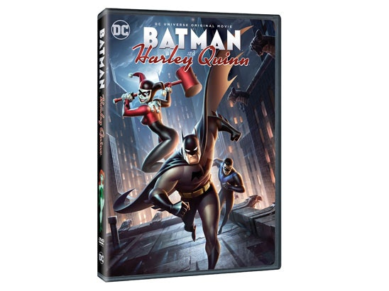 BATMAN & HARLEY QUINN DVD sweepstakes