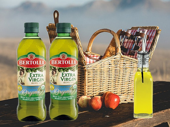 Bertolli olive oil prize package giveaway 1