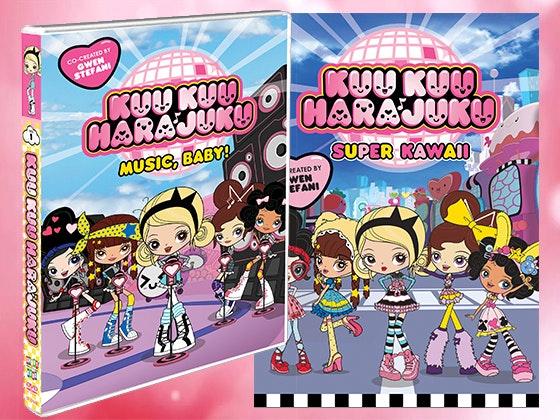 Kuu Kuu Harajuku DVDs sweepstakes