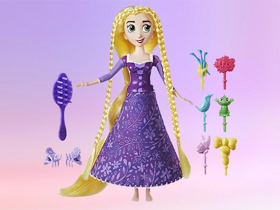 Disney's Tangled Spin 'N Style Rapunzel doll sweepstakes