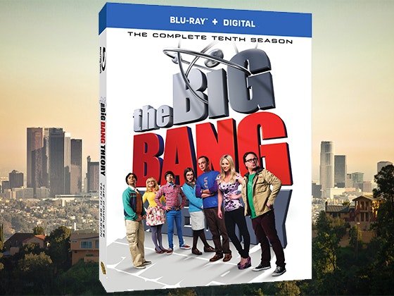 The Big Bang Theory: The Complete Tenth Season on Blu-ray™ sweepstakes