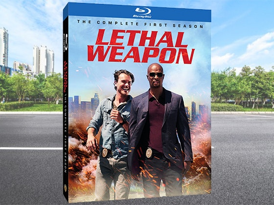Lethal Weapon: The Complete First Season on Blu-ray™ sweepstakes