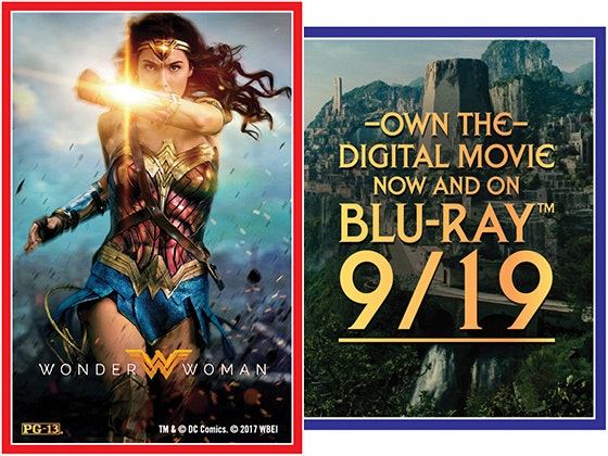 Wonder Woman on Digital sweepstakes