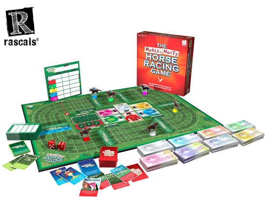 Really Nasty Horse Racing Board Game sweepstakes