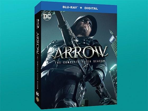 Arrow: The Complete Fifth Season on Blu-ray™ sweepstakes
