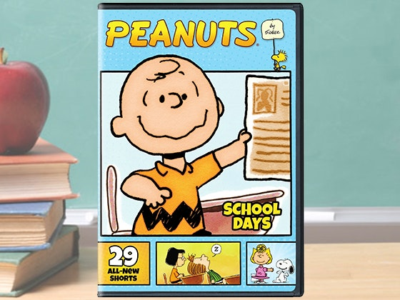 Peanuts schooldays dvd giveaway