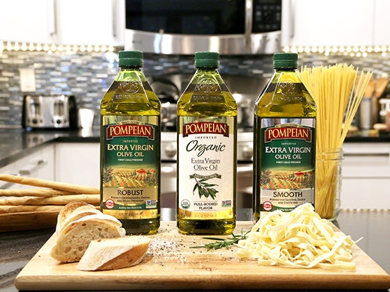 Pompeian Olive Oil + $300 Visa Gift Card sweepstakes