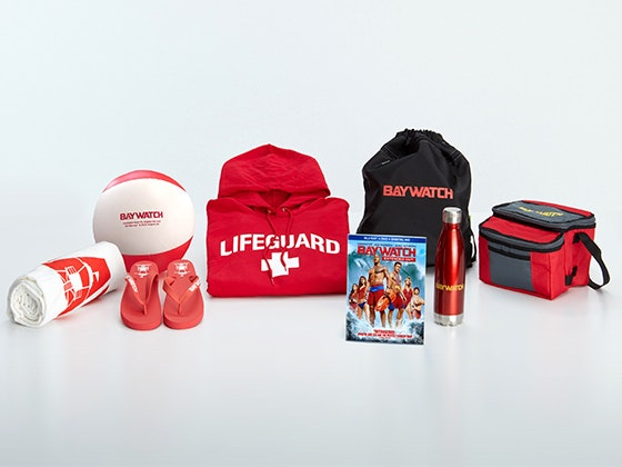 Baywatch prize package giveaway