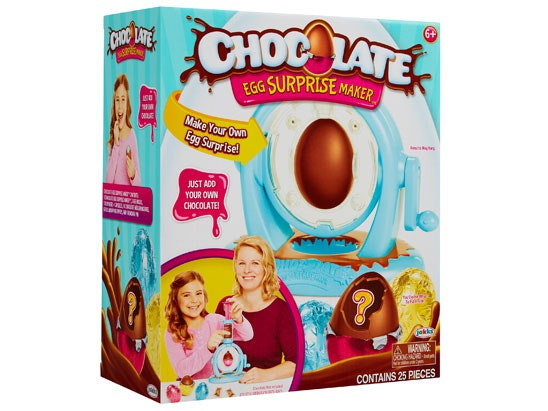 Chocolate egg suprise maker