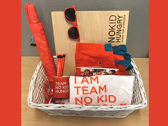 No Kid Hungry Prize Bundle sweepstakes
