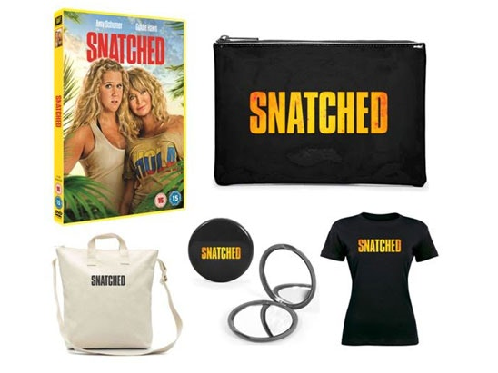 Snatched merchandise pack sweepstakes