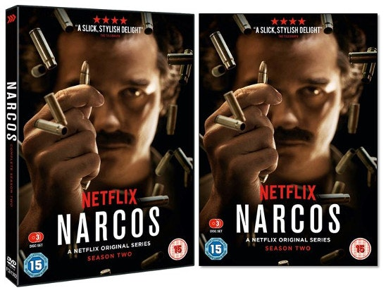 Nauer media narcos s2 dvd artwork
