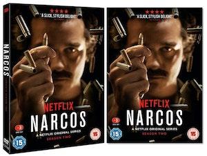 Nauer media narcos s2 dvd artwork