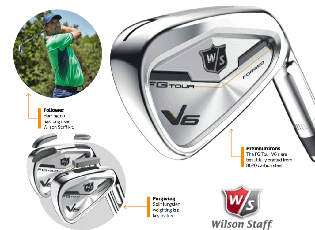 WIN £699 WILSON STAFF FG TOUR V6 IRONS! sweepstakes