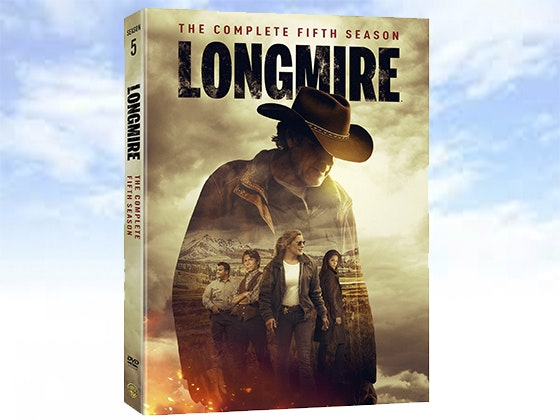 Longmire: The Complete Fifth Season on DVD sweepstakes