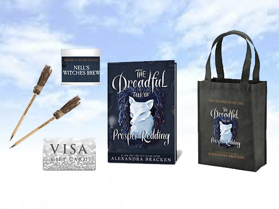 """The Dreadful Tale of Prosper Redding"" Prize Pack sweepstakes"