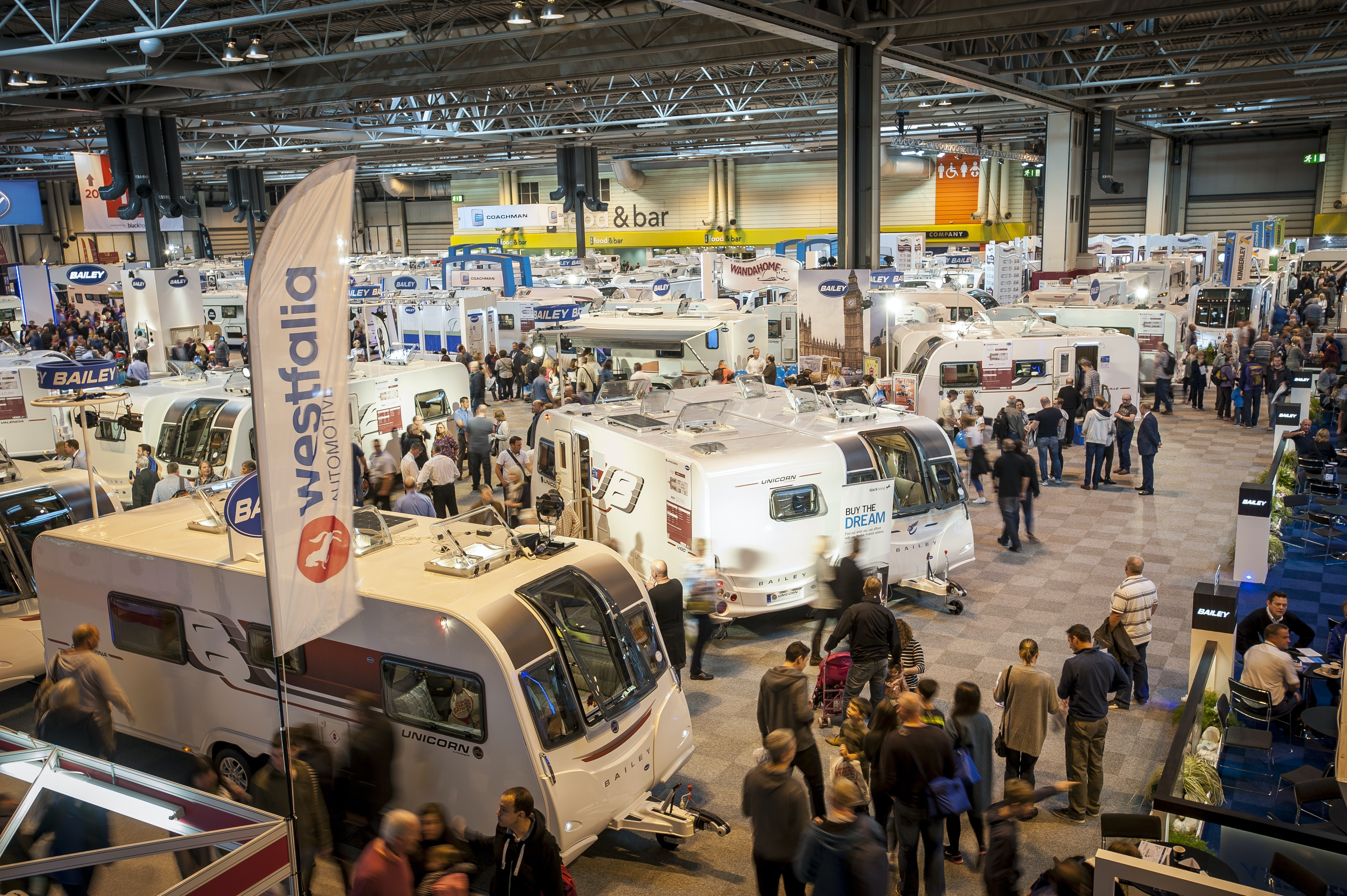 A pair of tickets to the Caravan Show in Birmingham sweepstakes