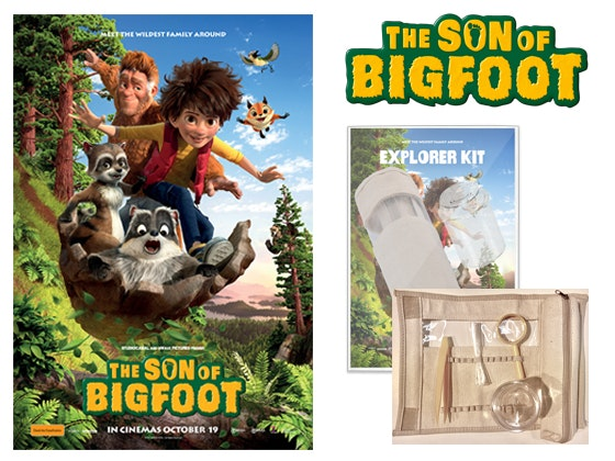The Son Of Bigfoot Prize Pack sweepstakes