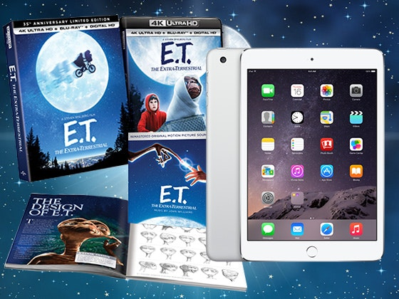 ET 35th Anniversary Edition and iPad mini 4 sweepstakes