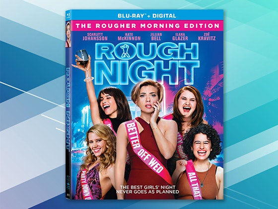 """ROUGH NIGHT"" on Blu-ray and a NEW Sony LED TV and Blu-ray Player sweepstakes"